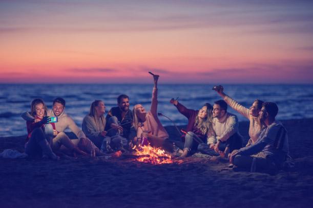 camping beachside tips